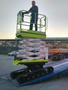 BIBI 850BL tracked lift Almac Pacific