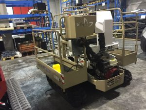 Almac Pacific tracked lift